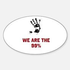 We are the 99 % Decal