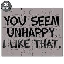 Unhappy Puzzle