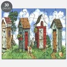 Outhouses Puzzle