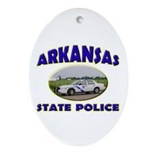 Arkansas State Police Ornament (Oval)