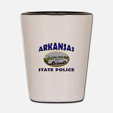 Arkansas State Police Shot Glass