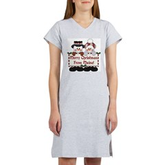 Merry Christmas From Maine! Women's Nightshirt