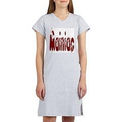 Christmas Mainiac Women's Nightshirt