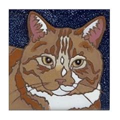 Tabby Cat Tile
