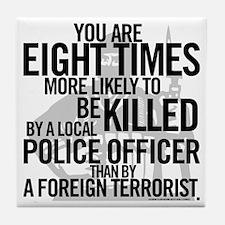 Terrorist Odds Tile Coaster