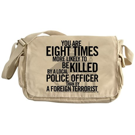 Terrorist Odds Messenger Bag