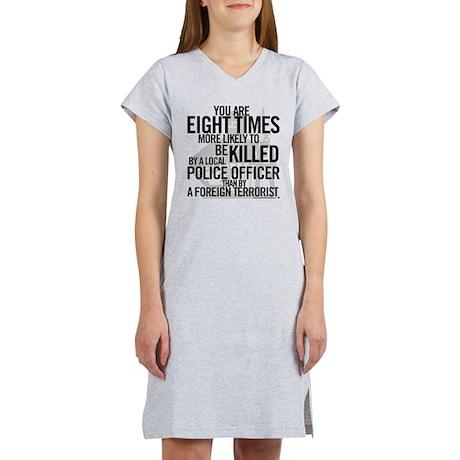 Terrorist Odds Women's Nightshirt