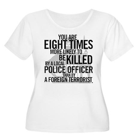 Terrorist Odds Women's Plus Size Scoop Neck T-Shir