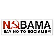 No Socialism Car Sticker