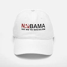 No Socialism Baseball Baseball Cap