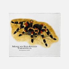 Mexican Red-Kneed Tarantula Throw Blanket