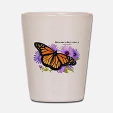 Monarch Butterfly Shot Glass