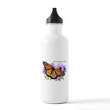 Monarch Butterfly Sports Water Bottle