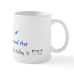 Mug: Benjamin Franklin proved that lightning is el