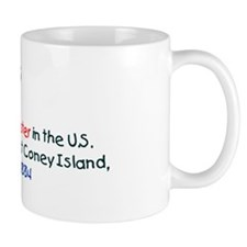 Coffee Mug: First roller coaster in the U.S. began operat