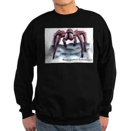 Rose-Haired Tarantula Sweatshirt (dark)