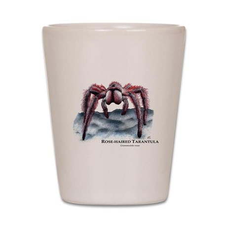 Rose-Haired Tarantula Shot Glass