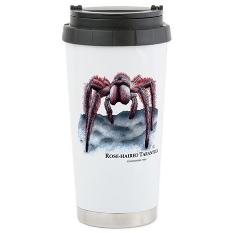 Rose-Haired Tarantula Stainless Steel Travel Mug