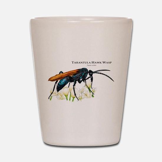 Tarantula Hawk Wasp Shot Glass
