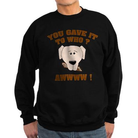 Give it to who ? Sweatshirt (dark)