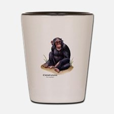Chimpanzee Shot Glass