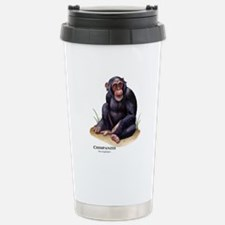 Chimpanzee Stainless Steel Travel Mug