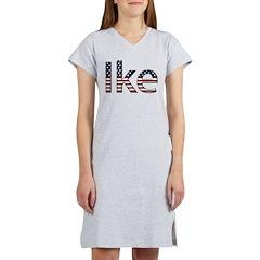 Ike Stars and Stripes Women's Nightshirt