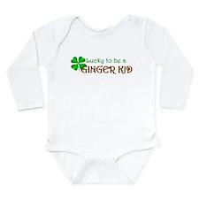 Ginger Kid Long Sleeve Infant Bodysuit