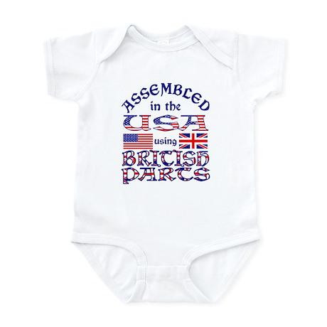 USA/Brit Parts Infant Creeper