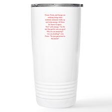 funny engineering jokes Thermos Mug
