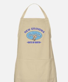 Personalize New Grandma (Birth Date) Apron