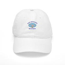 Personalize New Grandma (Birth Date) Baseball Baseball Cap