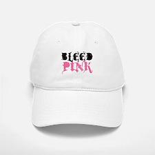 BLEED PINK (Baseball Baseball Cap)