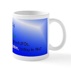 Mug: Flying Saucer Day Kenneth Arnold first sighte