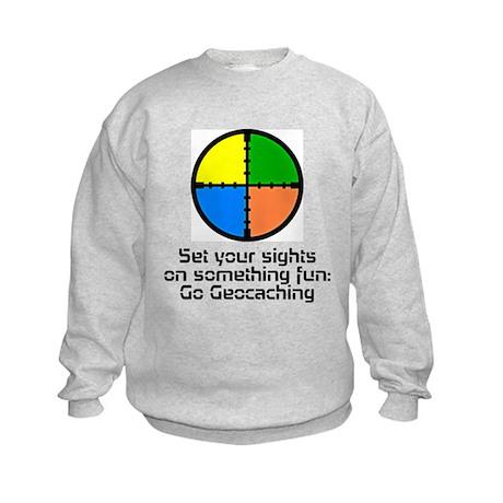 Set your Sights Kids Sweatshirt