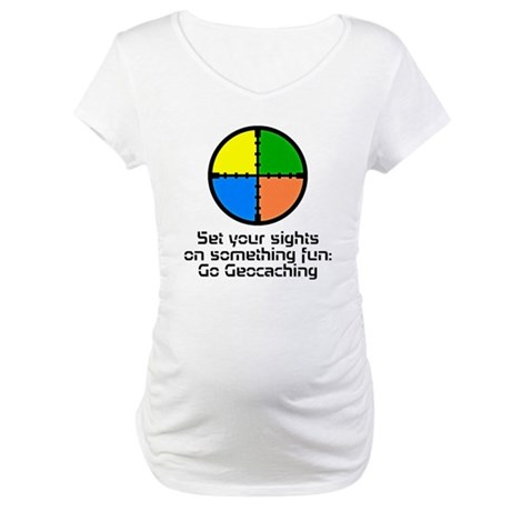 Set your Sights Maternity T-Shirt