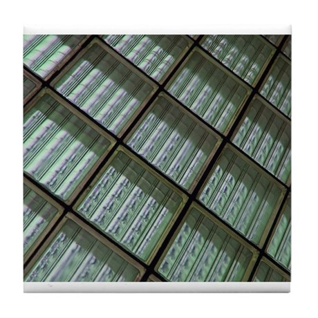 Water or glass Tile Coaster