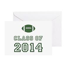 Class Of 2014 Football Greeting Card