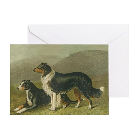 Sheepdogs Greeting Card