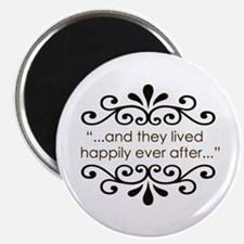 """'Happily Ever After' 2.25"""" Magnet (10 pack)"""