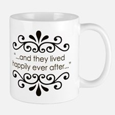 'Happily Ever After' Small Mugs