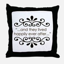 'Happily Ever After' Throw Pillow