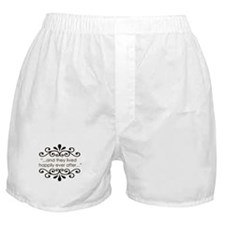 'Happily Ever After' Boxer Shorts