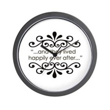 'Happily Ever After' Wall Clock