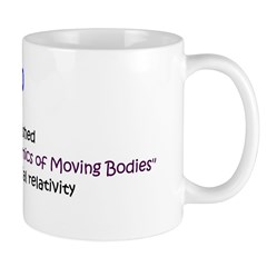 Mug: Albert Einstein published