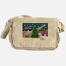 Xmas Magic / Sealyham Messenger Bag