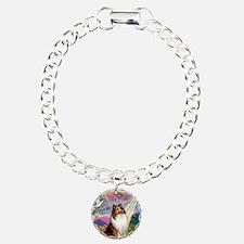 Cloud Angel Sheltie Bracelet