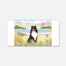 Rowboat / Sheltie (t) Aluminum License Plate