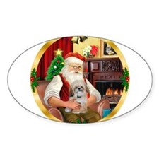 Santa's Shih Tzu (Paddy) Decal