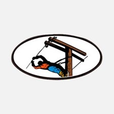 power lineman repairman Patches